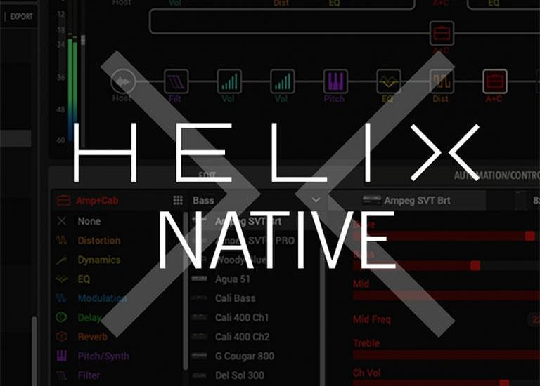 Line 6 Helix Native Guitar AMP (WIN) Free Download