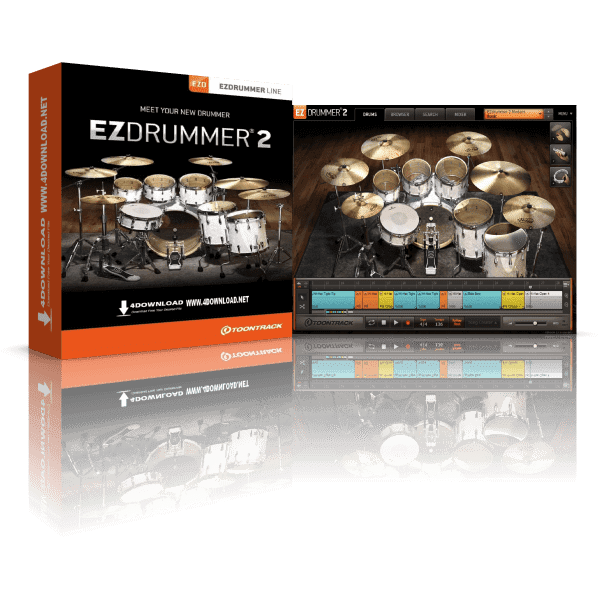 EZdrummer 2 Crack 2021 Free Download For Window