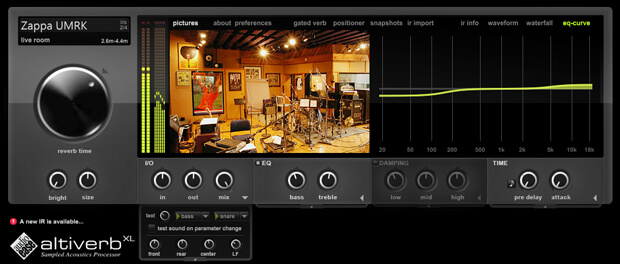 Audio Ease Altiverb XL Mac Crack v7.2.8 Free Download (Latest Version)