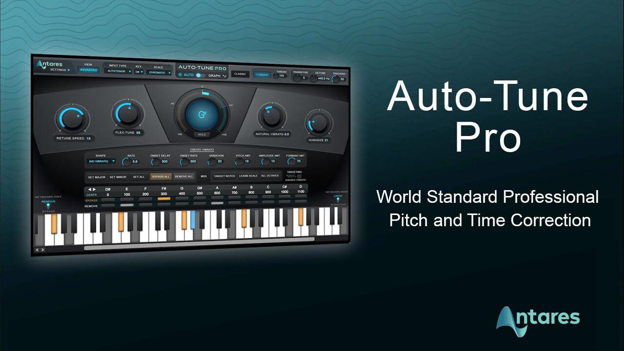 Auto-Tune Vocal Studio Crack 9.1.1 VST Full Version 2021 Free Download