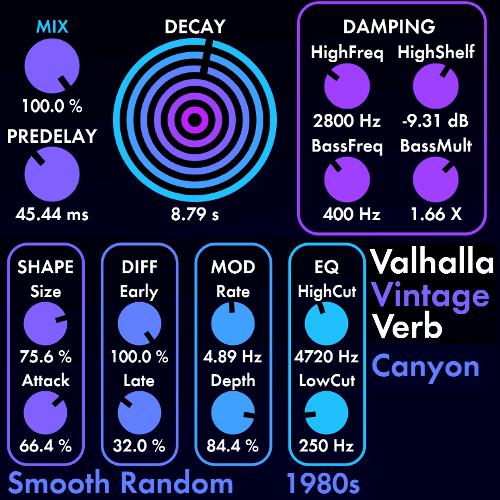 Valhalla VintageVerb (Win) - Cracked VST -Audio  Plugins Free 2021